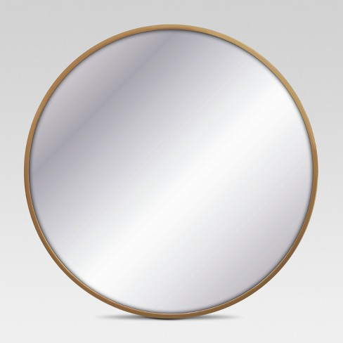 Decorative Circular Wall Mirror - Brass - Project 62™ - image 1 of 6