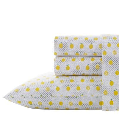 Printed Pattern Percale Cotton Sheet Set - Poppy & Fritz