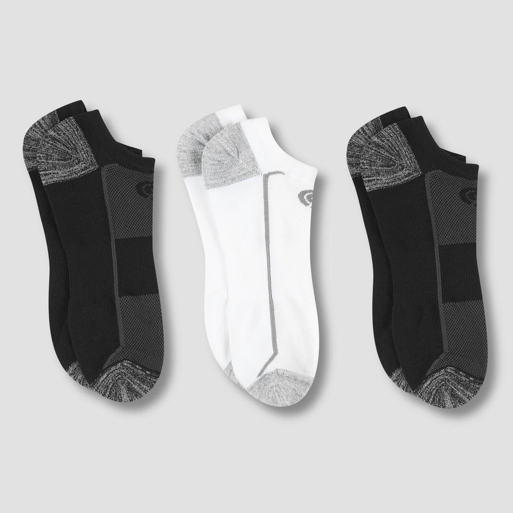 Best Review Men Training No Show Athletic Socks 3pk C9 Champion 6 12 Multi Colored
