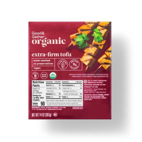 Organic Extra-Firm Tofu - 14oz - Good & Gather™ - image 1 of 2