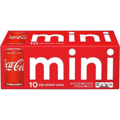 Coca-Cola - 10pk/7.5 fl oz Mini-Cans