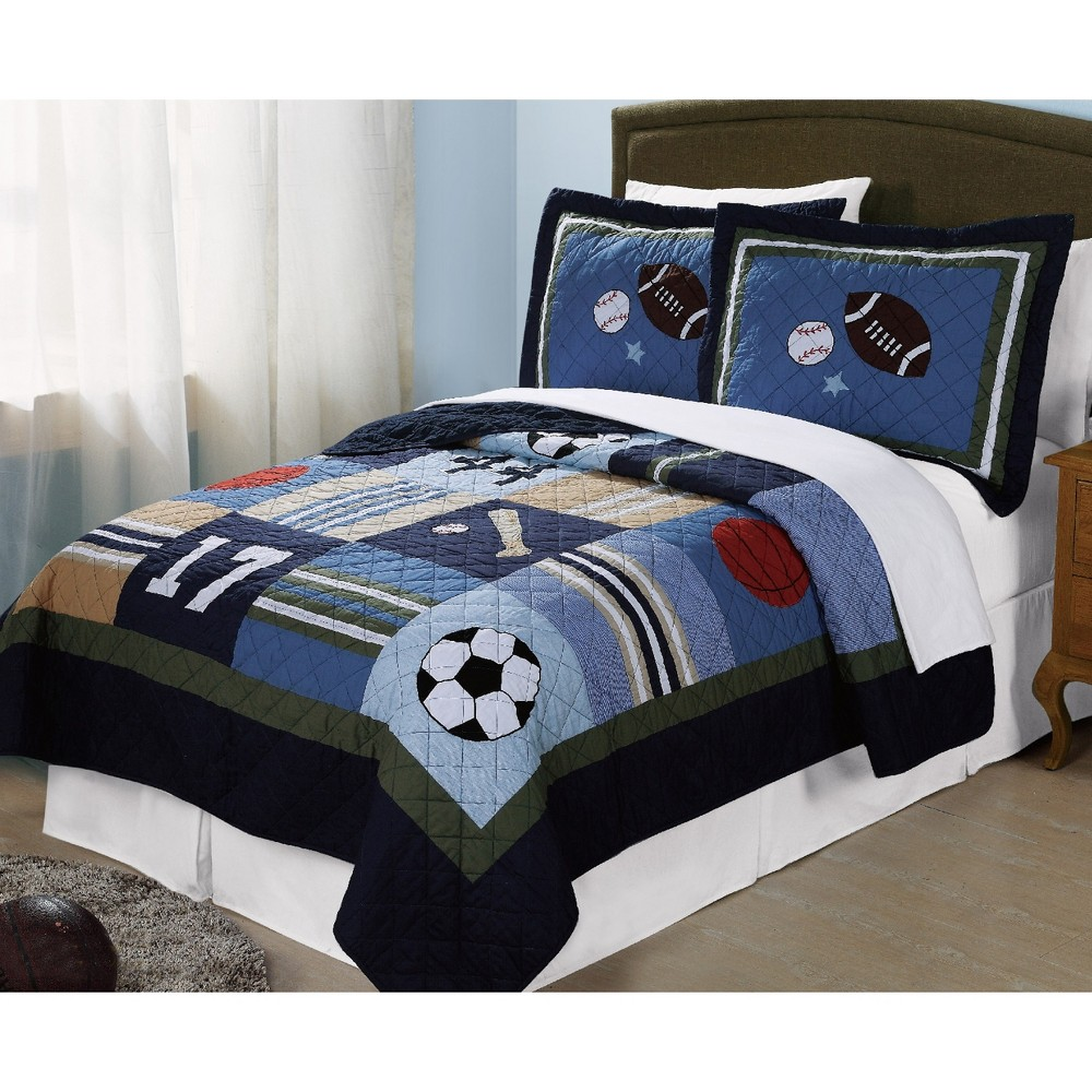 Image of Full/Queen All State Quilt Set - My World