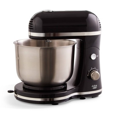 Delish by Dash 3.5QT Compact Stand Mixer - Black