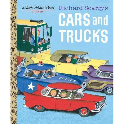 Richard Scarry's Cars and Trucks (Hardcover)