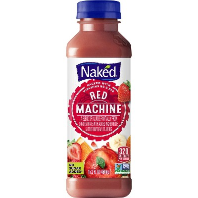 Naked Red Machine All Natural Boosted Vegan Juice Smoothie - 15.2oz