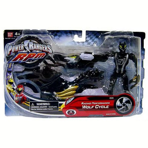Power Rangers RPM Auxilliary Trax Racing Performance Wolf Cycle Action Figure - image 1 of 2