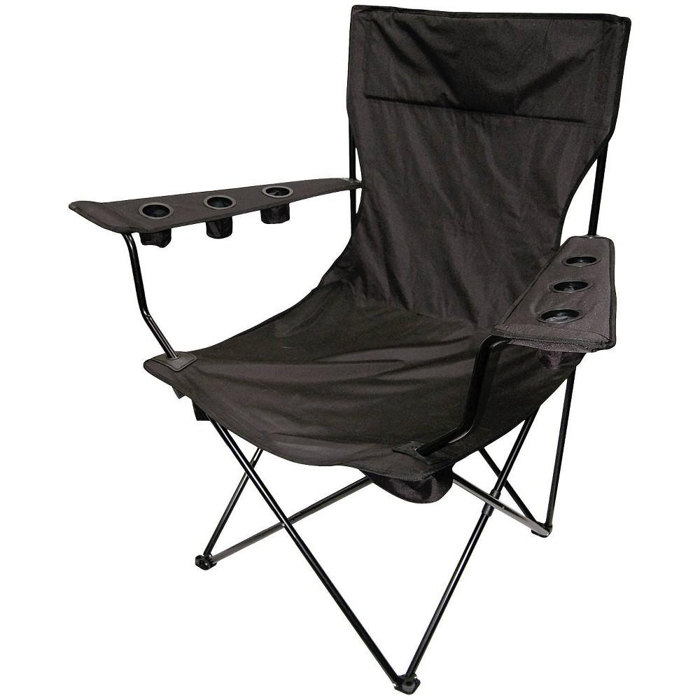 Creative Outdoor Distributor Folding King Pin Chair - Black
