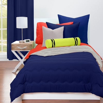 Crayola Deep Navy Comforter Sets (Twin)