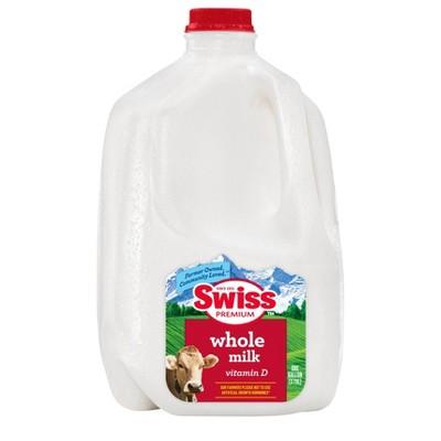 Swiss Premium Vitamin D Whole Milk - 1gal