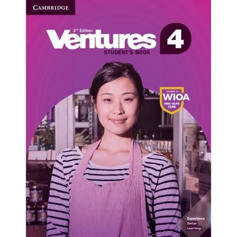 Ventures Level 4 Student's Book - 3rd Edition by  Gretchen Bitterlin & Dennis Johnson & Donna Price & Sylvia Ramirez (Paperback) - image 1 of 1