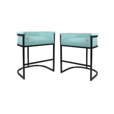Set of 2 Gunflint Modern Upholstered Barstool - Christopher Knight Home