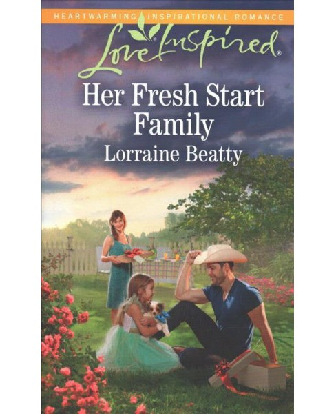 Her Fresh Start Family -  (Love Inspired) by Lorraine Beatty (Paperback) - image 1 of 1