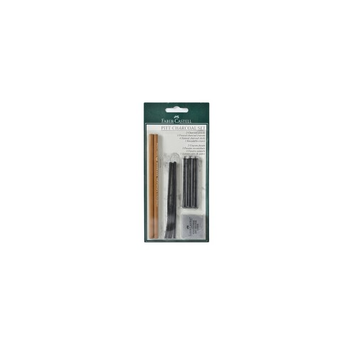 Pitt Charcoal Set 10pc - Faber-Castell - image 1 of 1