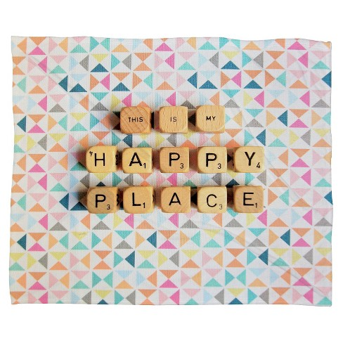 This Is My Happy Place Throw Blanket - Deny Designs® - image 1 of 1