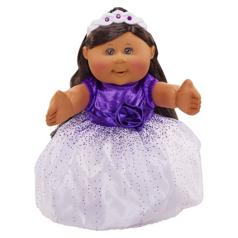 Cabbage Patch Kids Holiday Kid African American Girl, Purple Dress - image 1 of 2