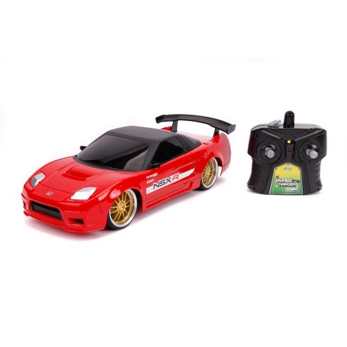 Jada Toys JDM Tuners RC 2002 Acura NSX Remote Control Vehicle 1:16 Scale Glossy Red - image 1 of 4