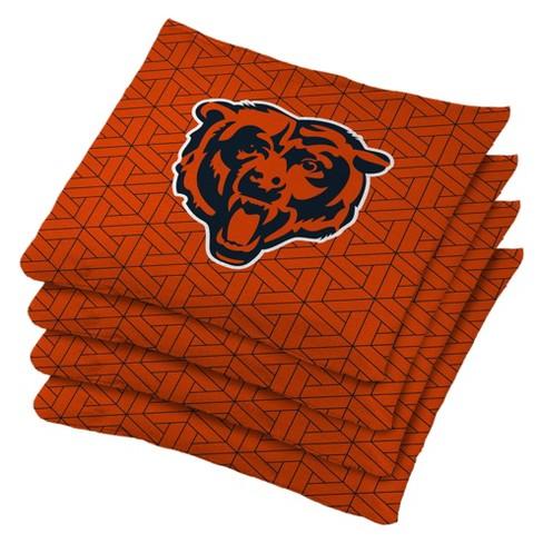 Phenomenal Chicago Bears 4Pk Bean Bag Set Orange Alphanode Cool Chair Designs And Ideas Alphanodeonline