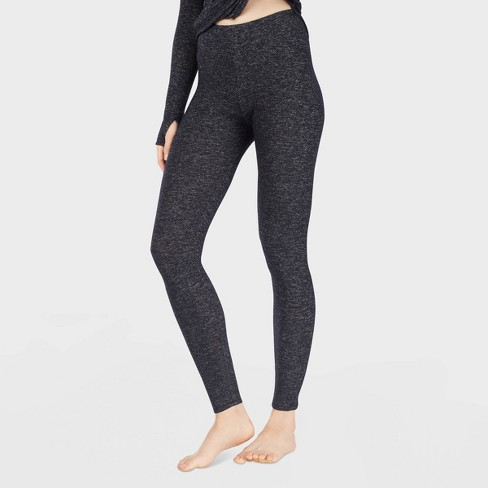 Warm Essentials by Cuddl Duds Women's Sweater Knit Thermal Leggings - image 1 of 2