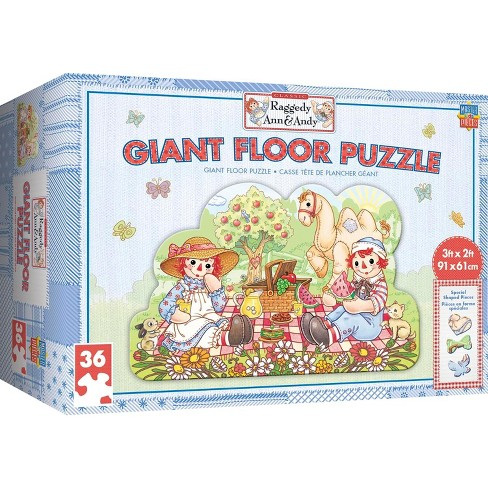 MasterPieces Inc Raggedy Ann & Andy 36 Piece Giant Floor Jigsaw Puzzle - image 1 of 4