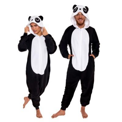 Funziez! Panda Slim Fit Adult Unisex Novelty Union Suit