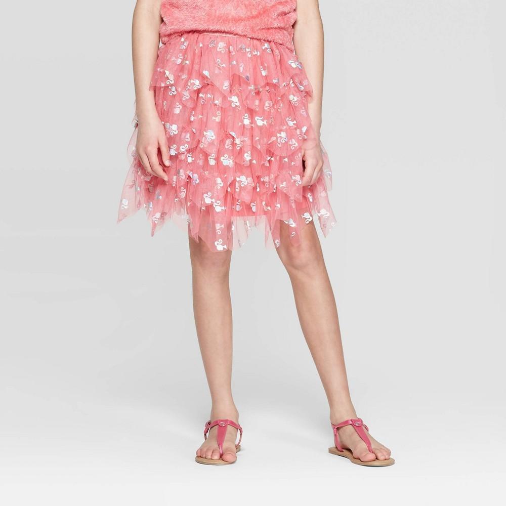 Girls' Barbie 60th Anniversary Skirt - Pink XS