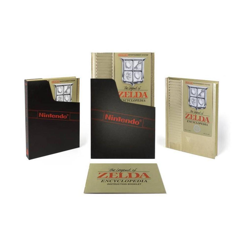 The Legend Of Zelda Encyclopedia Deluxe Edition Hardcover