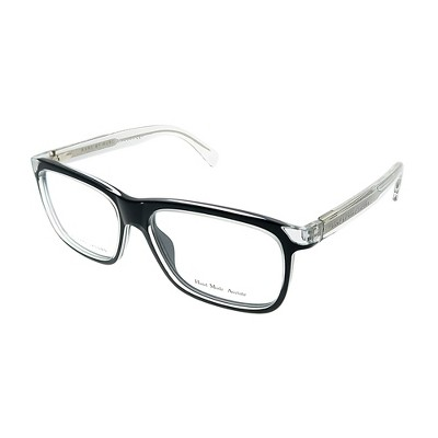Marc by Marc Jacobs  MHL Unisex Rectangle Eyeglasses Crystal Black 52mm