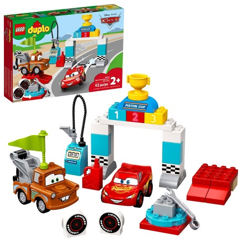Lego Duplo Disney And Pixar Cars Lightning Mcqueen S Race Day Toy