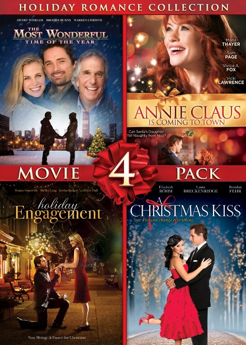 Christmas kiss/Holiday engagement/Mos (DVD) - image 1 of 1