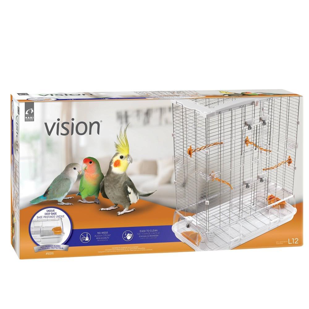 Vision II Model Bird Cage - L, White