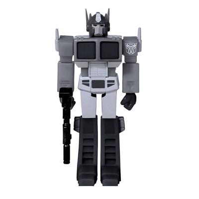 Super7 Transformers Optimus Prime Figure - Exclusive Black & White