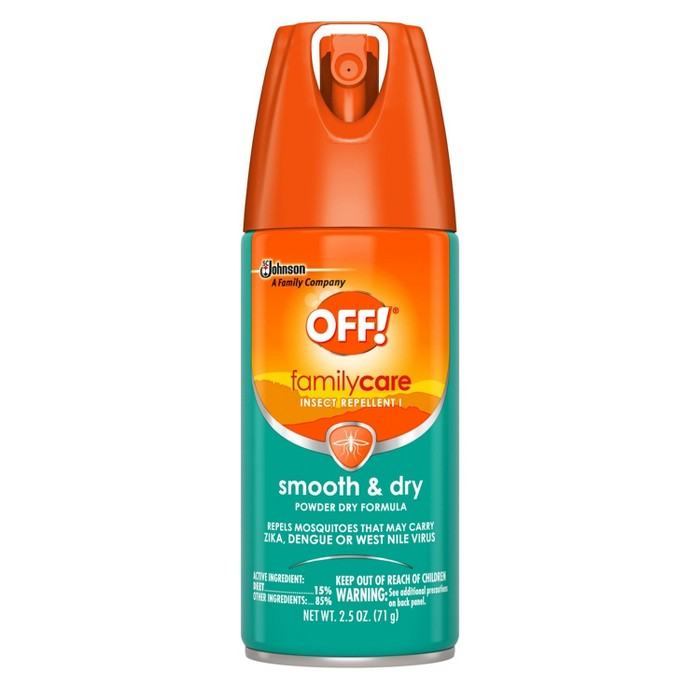 OFF! FamilyCare Insect Repellent I, Smooth & Dry - 2.5oz/1ct - image 1 of 5