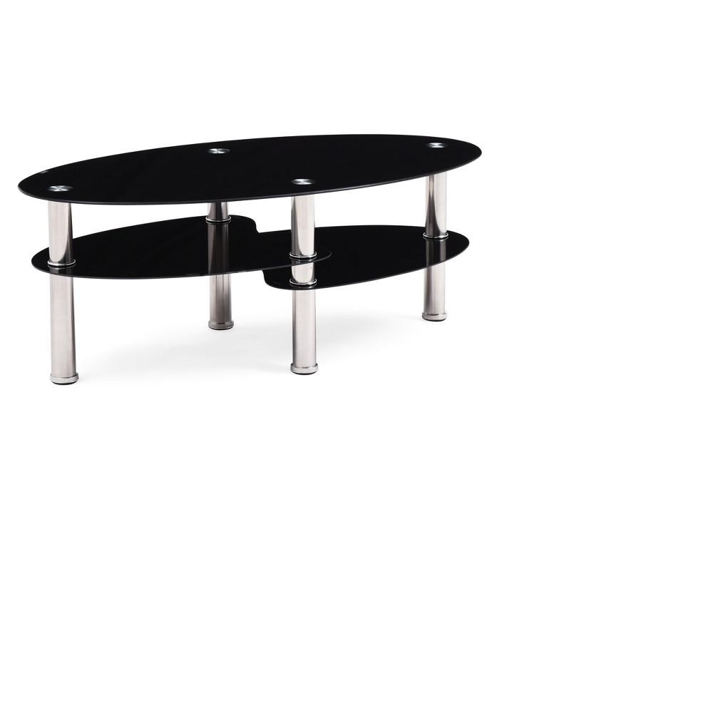 Image of Coffee Table Black - Hodedah Import