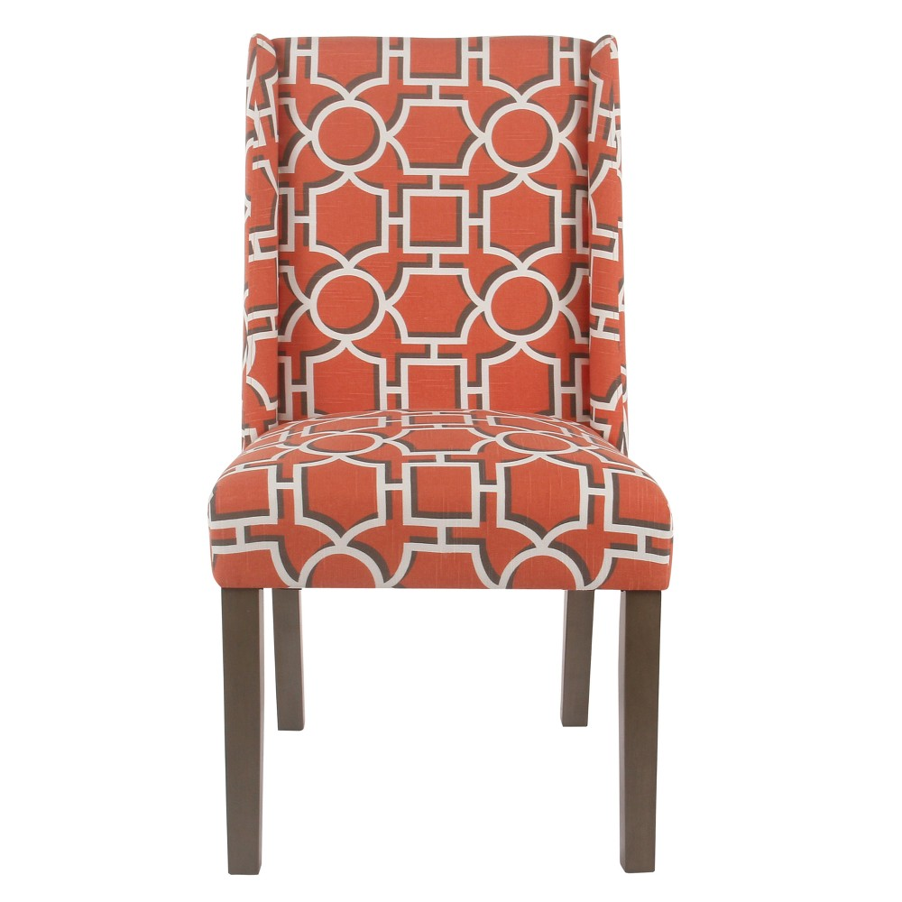 (Set of 2) Dinah Modern Dining Chair Red - Homepop