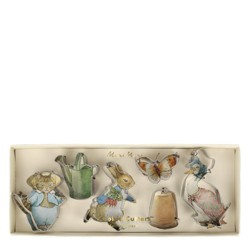 Meri Meri - Peter Rabbit & Friends Mini Cookie Cutters - Cookie Cutters - 6ct