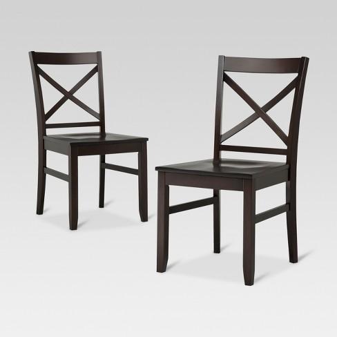 Set Of 2 Carey Dining Chair Threshold