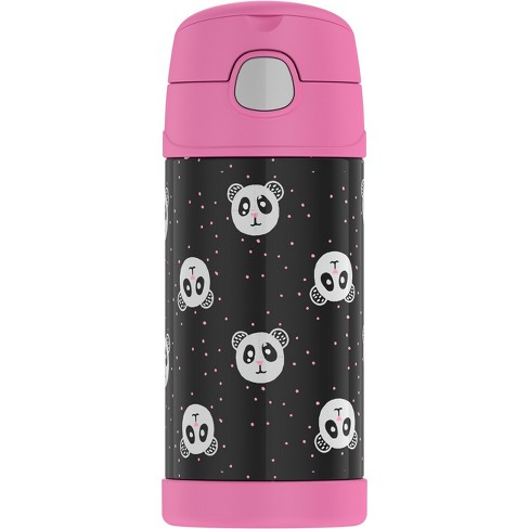 Thermos Crckt 12oz Funtainer Water Bottle - Panda - image 1 of 3