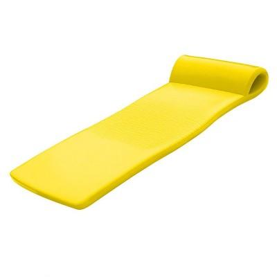 TRC Recreation Sunsation 70 Inch Foam Raft Lounger Swimming Pool Float, Yellow