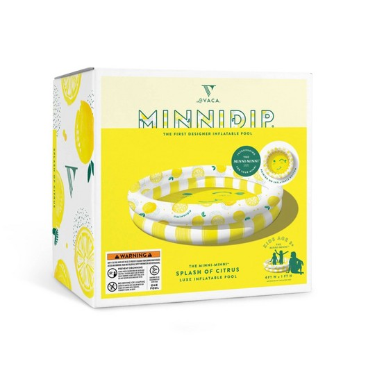 Minnidip Splash of Citrus Minni-Minni Kiddie Pool image number null