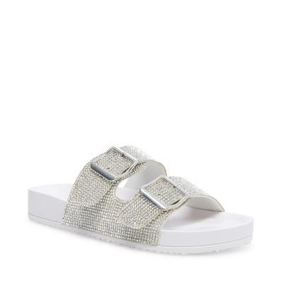 Madden Girl Women's Teddy-R Slide-on Sandals