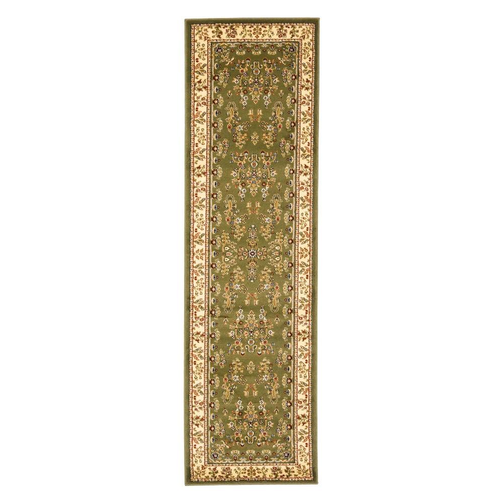 23X14 Floral Loomed Runner Sage/Ivory - Safavieh Buy