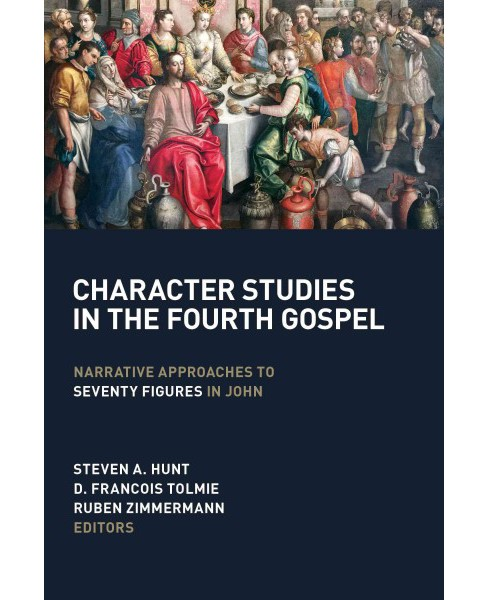 Character Studies in the Fourth Gospel : Narrative Approaches to Seventy Figures in John (Paperback) - image 1 of 1