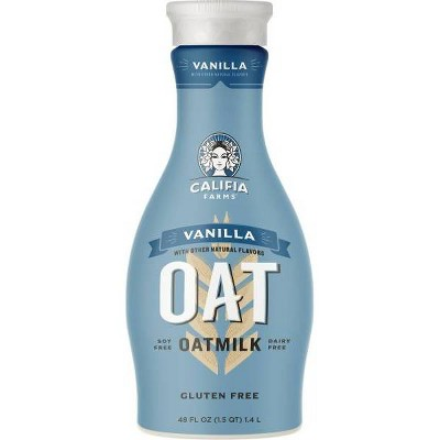 Califia Farms Dairy-Free Vanilla OatMilk - 1.5qt