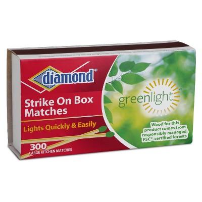 Diamond Strike On Box Matches - 300ct