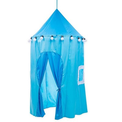 Magic Cabin - Outdoor Tent with Lights for Kids, Blue
