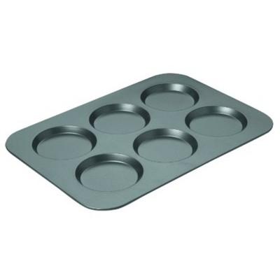 "Chicago Metallic Non stick Muffin Top Pan 3/4 x 11"" Steel"
