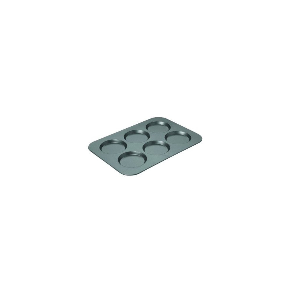 Chicago Metallic Non stick Muffin Top Pan 3/4 x 11 Steel, Silver