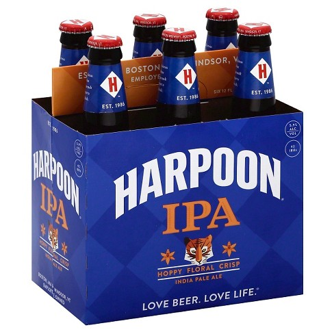 Harpoon® IPA - 6pk / 12oz Bottles - image 1 of 1