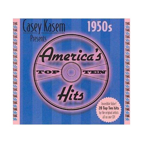 Various Artists - Casey Kasem: America's Top 10 Through Years - The 50's (CD) - image 1 of 1