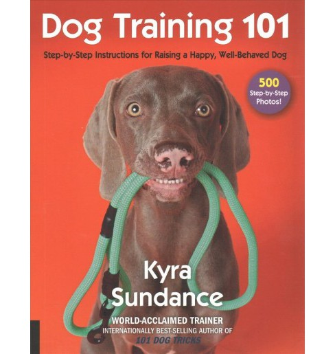 Dog Training 101 : Step-by-Step Instructions for Raising a Happy, Well-Behaved Dog (Paperback) (Kyra - image 1 of 1